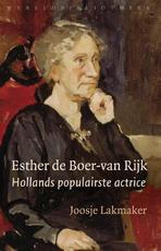 Esther de Boer-van Rijk - Joosje Lakmaker (ISBN 9789028440753)