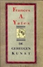 De geheugenkunst - Frances A. Yates, Amp, Jacob Groot (ISBN 9789035104280)