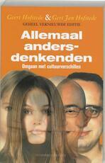 Allemaal andersdenkenden - Geert Hofstede, Gert Jan Amp; Hofstede (ISBN 9789025426811)