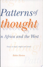 Patterns of Thought in Africa and the West - Robin Horton (ISBN 9780521369268)