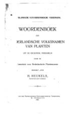 Woordenboek der Nederlandsche volksnamen van planten