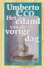 Het eiland van de vorige dag - Umberto Eco, Yond Boeke (ISBN 9789035123298)