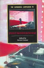 Cambridge Companion to Postmodernism - Steven Connor (ISBN 9780521648400)