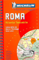 Michelin Rom 1 : 10 000 Spiralbindung ( Stadtplan). - Michelin Travel Publications (ISBN 9782062038009)