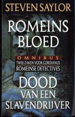 Romeins bloed & Dood van een slavendrijver - Steven Saylor (ISBN 9789022528792)