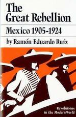 The Great Rebellion - Ramón Eduardo Ruiz (ISBN 9780393951295)