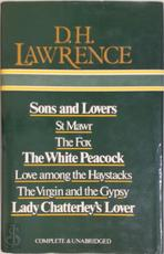 Sons and lovers ; St Mawr ; The Fox ; The White Peacock ; Love among the haystacks ; The Virgin and the Gypsy ; Lady Chatterley's Lover - David Herbert Lawrence (ISBN 9780905712420)