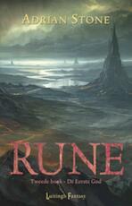 Rune 2 De eerste God - Adrian Stone (ISBN 9789024551200)