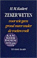 Zeker weten - H. Martinus Kuitert (ISBN 9789025945954)