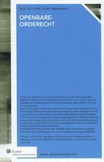 Openbare-orderecht (ISBN 9789013114089)