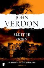 Sluit je ogen - John Verdon (ISBN 9789022566091)