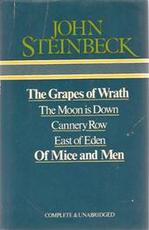 The Grapes of Wrath / the Moon Is Down / Cannery Row / East of Eden / of Mice and Men - John Steinbeck (ISBN 9780905712062)