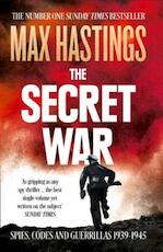 Secret War - Max Hastings (ISBN 9780007503902)