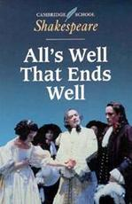 All's Well That Ends Well - William Shakespeare (ISBN 9780521445832)