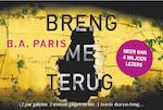 Breng me terug - B.A. Paris (ISBN 9789049806507)
