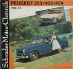 Peugeot 203/403/404 1948-72 - Walter Zeichner (ISBN 3922617182)
