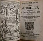 Regel der fünff Orden Von der Architectur - Jacob Barozzio von Vignola, Muet