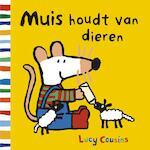 Muis houdt van dieren - Lucy Cousins (ISBN 9789025872946)