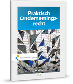 Praktisch Ondernemingsrecht - S.S.M. Rutten, Mr.S.S.M. Rutten (ISBN 9789001875510)