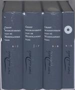 Grote Van Dale Van Dale Groot woordenboek van de Nederlandse taal - Ton den Boon, Amp, Dirk Geeraerts, Amp, Nicoline van der Sijs (ISBN 9789066484276)