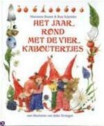 Het jaar rond met de vier kaboutertjes - Marianne Busser, Ron Schröder, Jeska Verstegen (ISBN 9789041009142)
