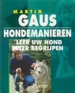 Hondemanieren - Martin Gaus (ISBN 9789052101668)