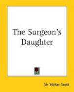 The Surgeon's Daughter - Sir Walter Scott (ISBN 9781419184444)