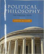 Political Philosophy - Steven M. Cahn (ISBN 9780190201081)