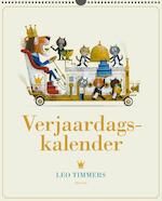 Verjaardagskalender Leo Timmers - Leo Timmers (ISBN 9789021414799)