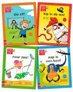 Pakket Maan Roos Vis avi M3 - Lieneke Dijkzeul, Isabel Versteeg, Marianne Busser, Vivian den Hollander (ISBN 9789048717958)
