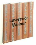Lawrence Weiner - Lawrence Weiner, Benjamin H. D. Buchloh (ISBN 9780714837550)