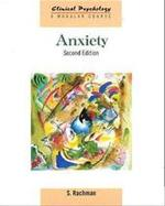 Anxiety - Stanley Rachman (ISBN 9781841695167)