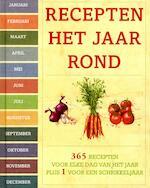 Recepten het hele jaar rond - Unknown (ISBN 9781472318527)