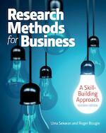 Research Methods For Business - Uma Sekaran (ISBN 9781119165552)