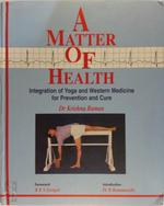 A matter of health - Krishna Raman (ISBN 9788186852101)
