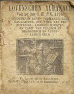 Lovensche Almanak voor het jaar O.H.J.C. 1850 - Unknown