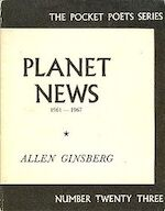 Planet News - Allen Ginsberg (ISBN 0872860205)