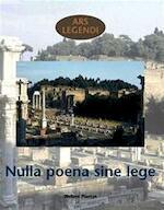 Ars legendi nulla poena sine lege