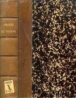 Pensées de Pascal publiées dans leur texte authentique avec un commentaire suivi et une étude littéraire par Ernest Havet ... - Blaise Pascal, Madame Perier (Gilberte)