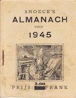 Snoeck's almanach voor [...] 1945