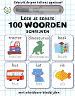 Leer je eerste 100 woorden schrijven - Elizabeth Golding (ISBN 9789059474611)