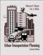 Urban Transport Plan - Meyer, Eric J. Miller (ISBN 9780071200004)
