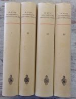Gesammelte Abhandlungen - Hermann Weyl