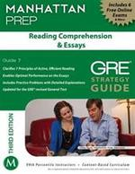 Reading Comprehension & Essays GRE Strategy Guide 7 - Unknown (ISBN 9781935707950)