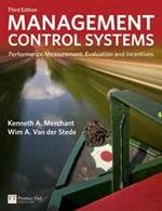 Management Control Systems - Kenneth A. Merchant (ISBN 9780273737612)