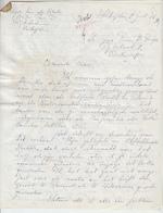 Roger Van de Velde - Collectie: brief + typoscripten - VAN DE VELDE, Roger