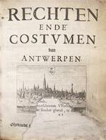 RECHTEN ENDE COSTUMEN van Antwerpen - Unknown