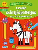 Zo leuk is oefenen! Leuke schrijfspelletjes (3-4 j.) - ZNU (ISBN 9789044750034)