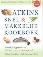 Atkins snel & makkelijk kookboek - Robert C. Atkins, Veronica Atkins (ISBN 9789032509729)