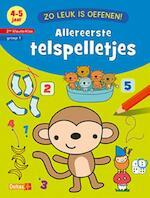 Zo leuk is oefenen! Allereerste telspelletjes (4-5 j.) - ZNU (ISBN 9789044746150)